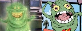 Sure, Slimer is translucent, but they can take care of that in post.