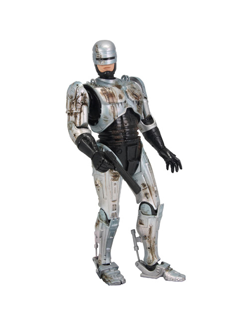 battle damaged robocop figure