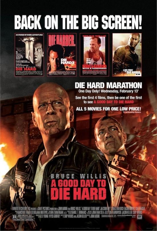 die hard marathon poster