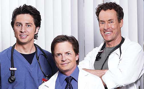 michael j fox in scrubs
