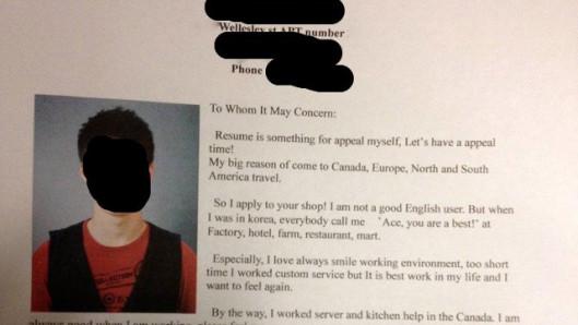 do i type up a resume