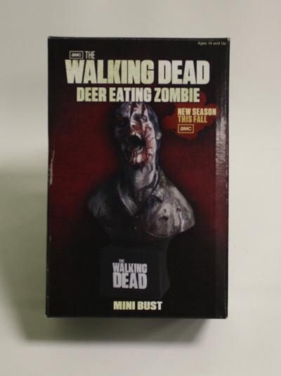 walking dead bust packaging