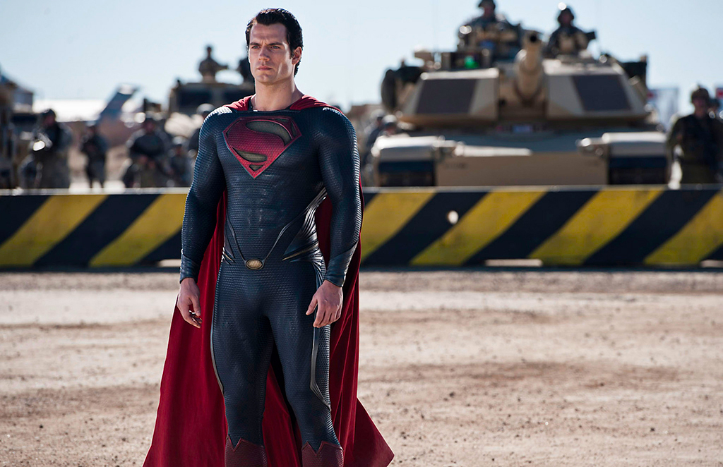 man of steel suit