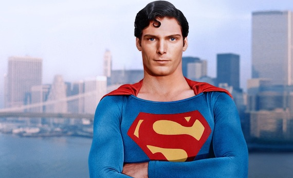 The classic Christopher Reeve Superman.