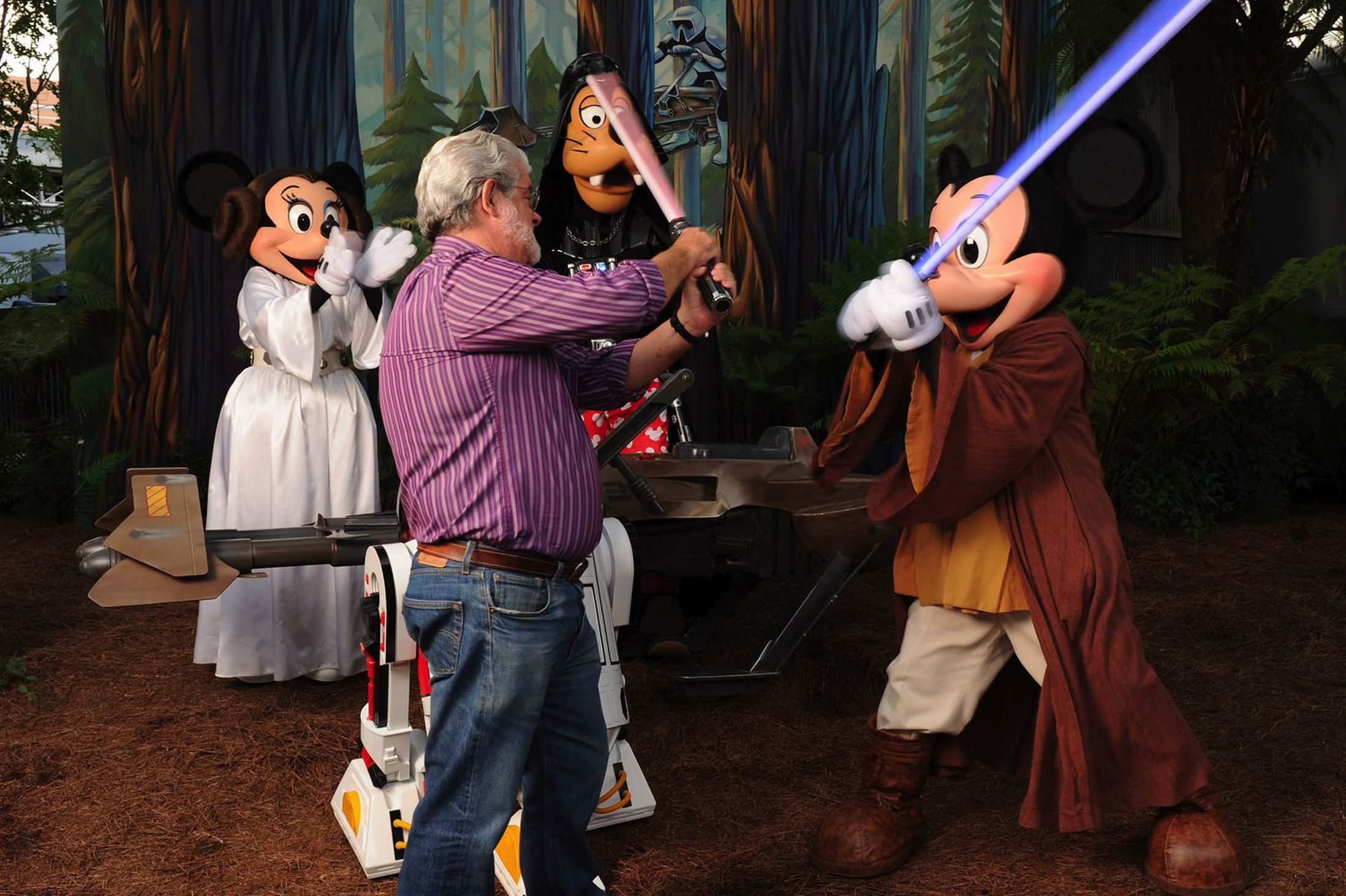 george lucas mickey