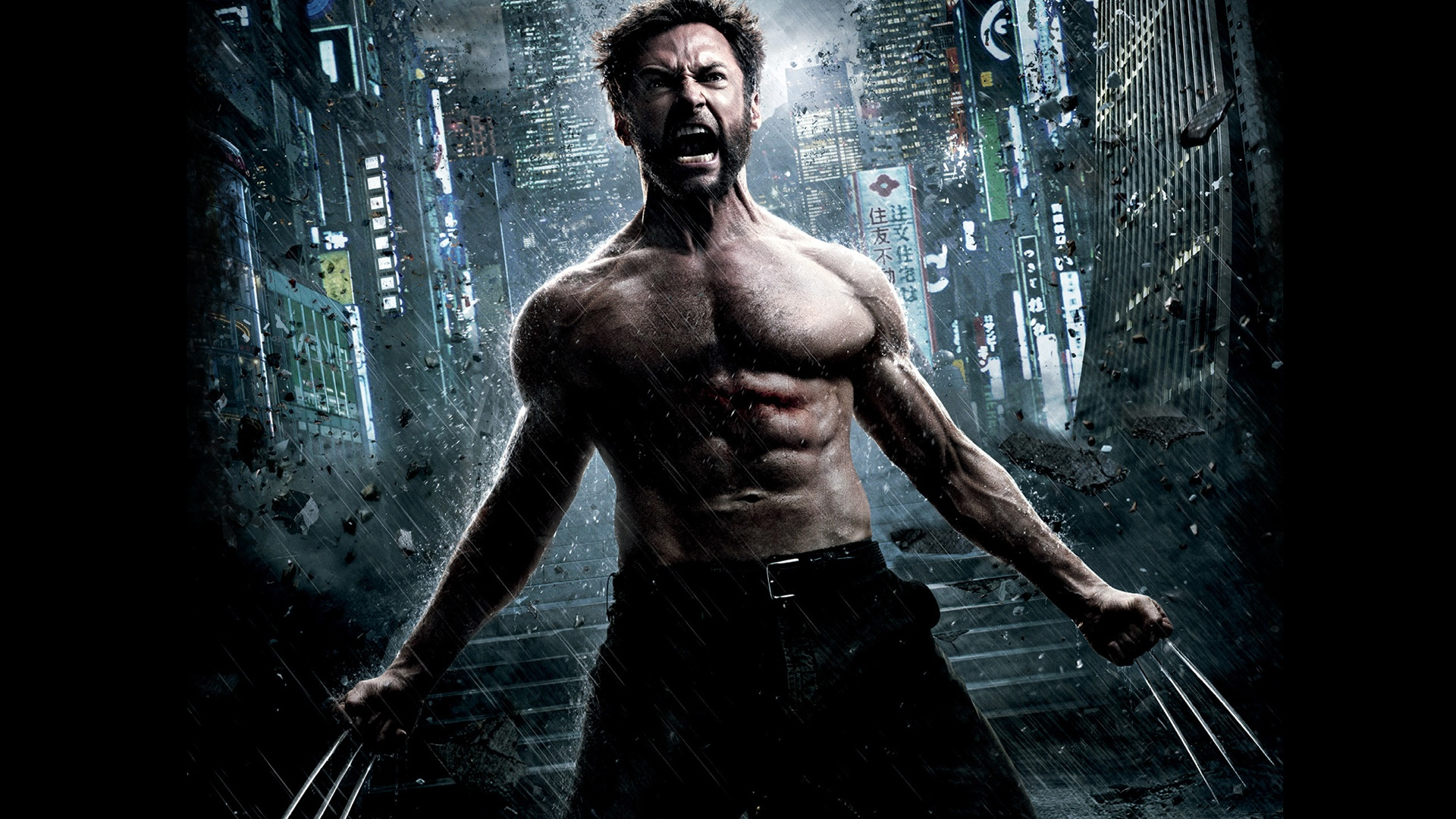 the wolverine yelling